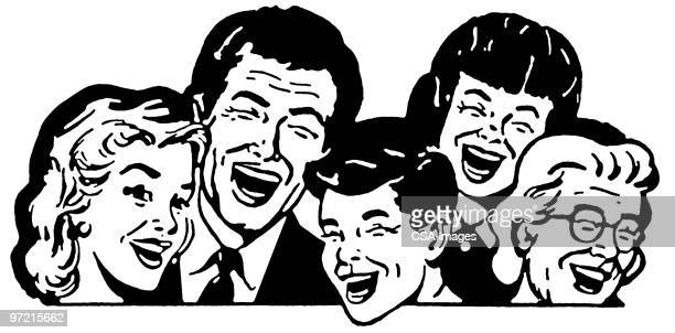 laughter - laughing stock illustrations