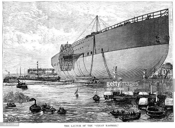 Launch of the Great Eastern