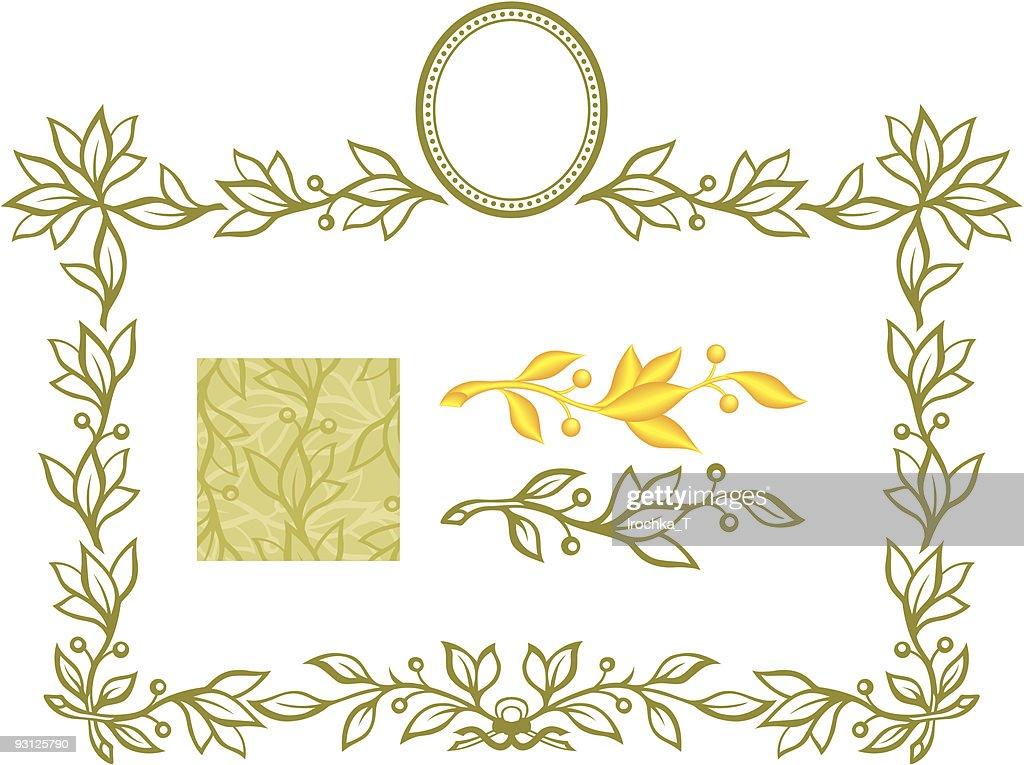 laurel border