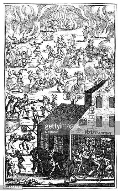 legend of the black sabbath ,hell - circa 15th century stock illustrations, clip art, cartoons, & icons