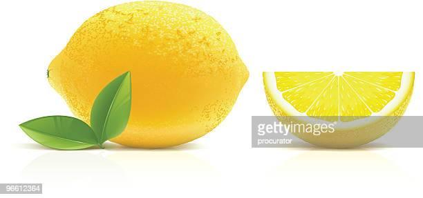 ilustrações, clipart, desenhos animados e ícones de de limão - limão amarelo
