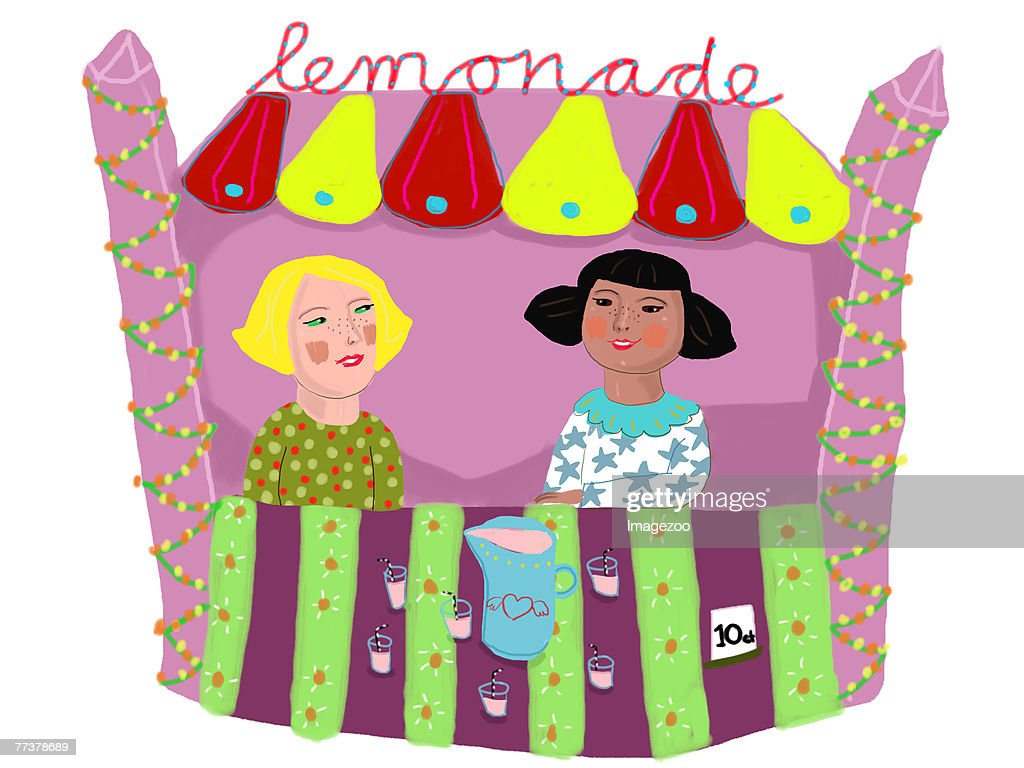 lemonade stand : Illustration