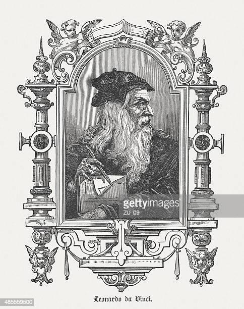 Leonardo da Vinci, Italian polymath, published in 1878