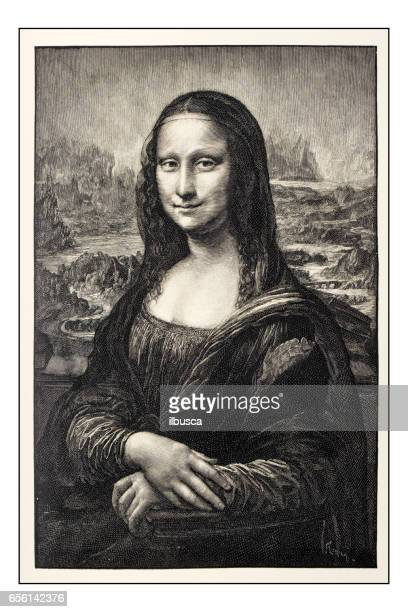 Leonardo's sketches and drawings: Mona Lisa (La Gioconda)