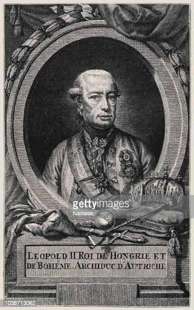 leopold ii (1747-1792), holy roman emperor - lorraine stock illustrations, clip art, cartoons, & icons