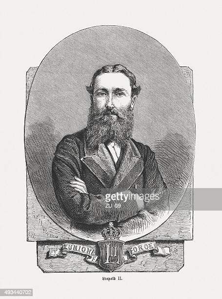 Leopold II of Belgium (1835 - 1909), published in 1871