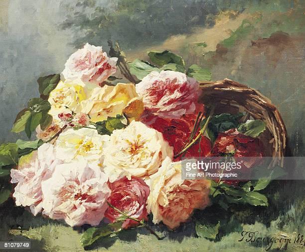 les roses romantiques - 1900 1909 stock illustrations