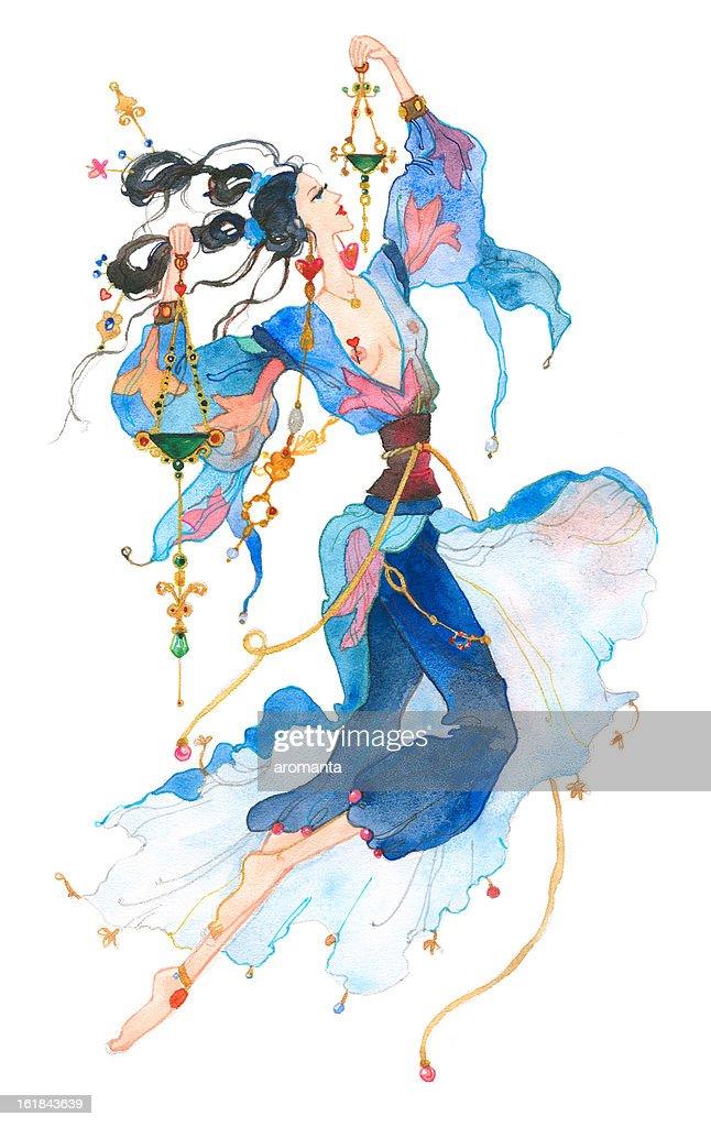 Libra. Astrology Sign. : stock illustration