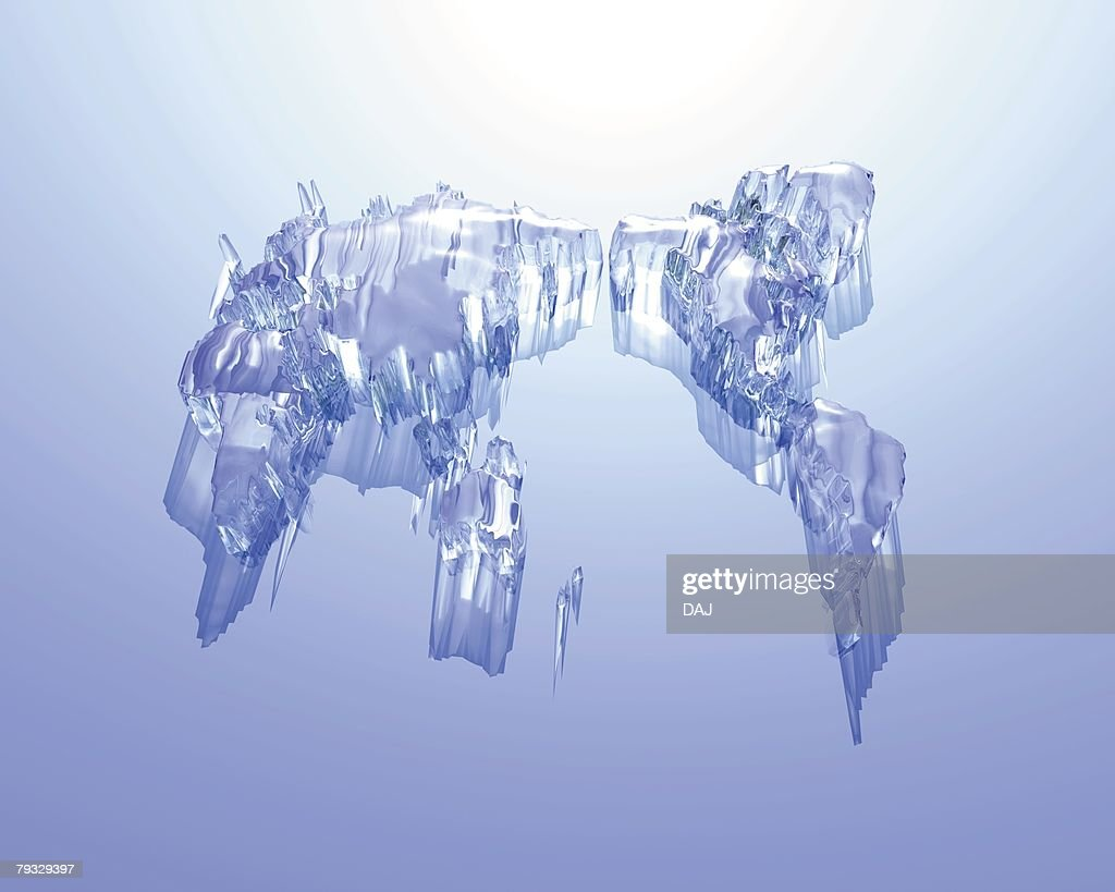 Light and crystal world map blue background computer graphics light and crystal world map blue background computer graphics composition stock illustration gumiabroncs Gallery