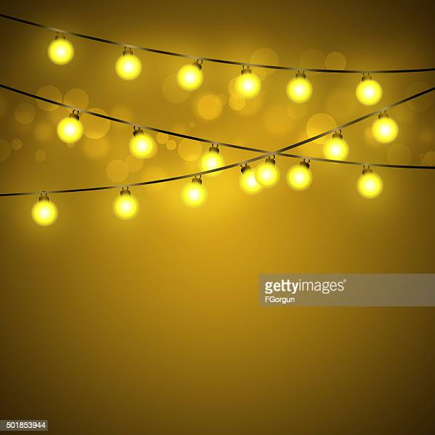 Light bulb abstract