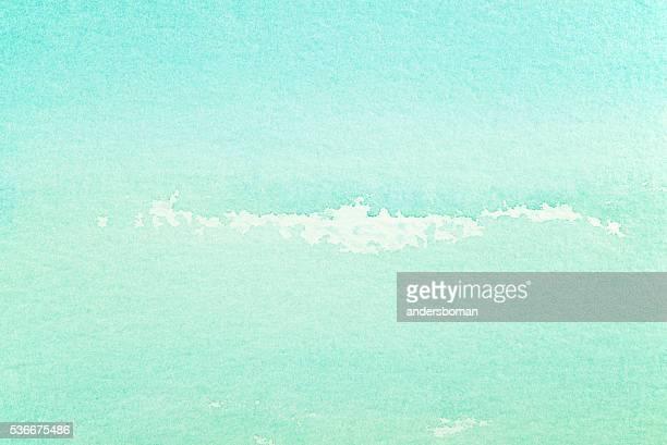 Papier aquarelle fond vert clair