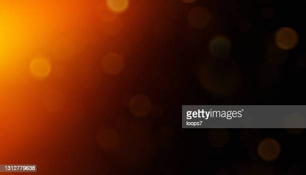 ボケと黒の背景に光リークバーン - 薄い点のイラスト素材/クリップアート素材/マンガ素材/アイコン素材