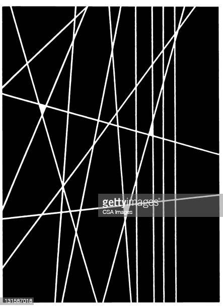 line pattern - black and white stock illustrations