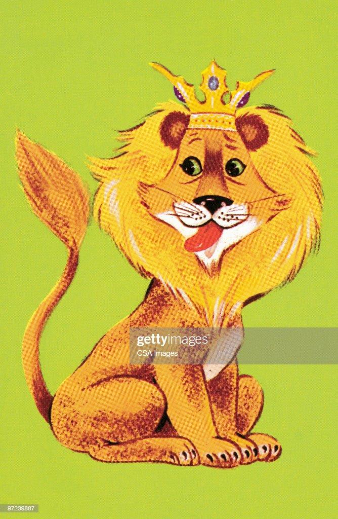Lion : stock illustration