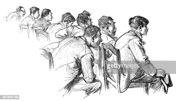 Listeners at the trial