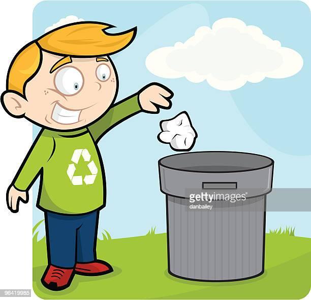 ilustraciones, imágenes clip art, dibujos animados e iconos de stock de de la camada - tirar basura
