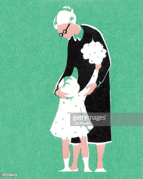 Niña con Grandma