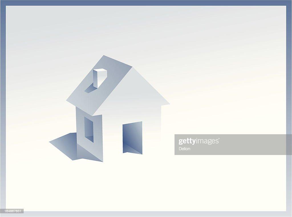 Little symbol of Real Estate (Vector & JPG)
