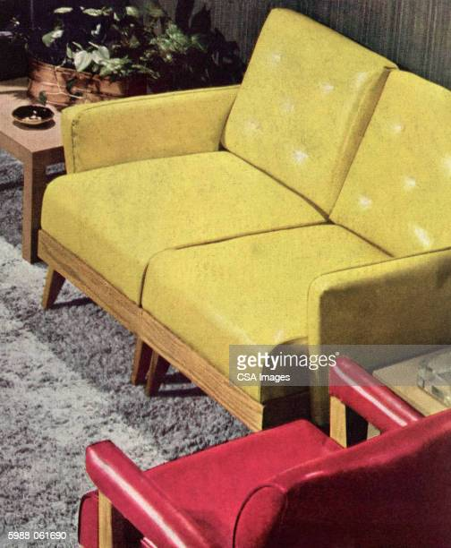 living room - plastic stock illustrations