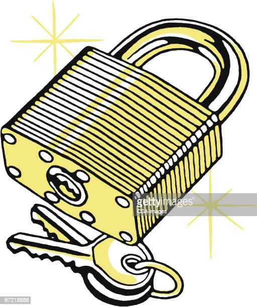 lock - lock stock illustrations