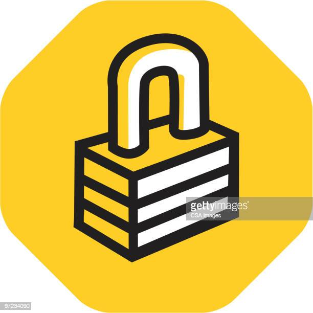 lock - safety stock illustrations