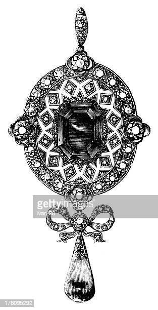 locket - necklace stock illustrations, clip art, cartoons, & icons