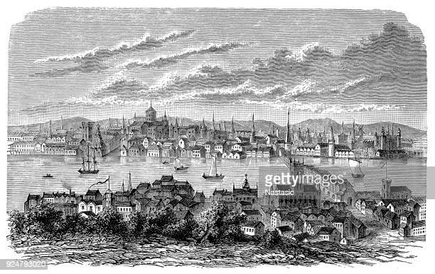 London before the Great Fire in the 17th century