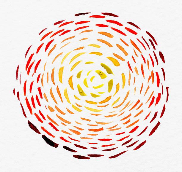 Loop Watercolor on Paper