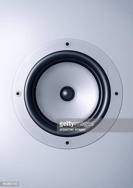 illustrazioni stock, clip art, cartoni animati e icone di tendenza di loudspeaker / speaker - altoparlante hardware audio