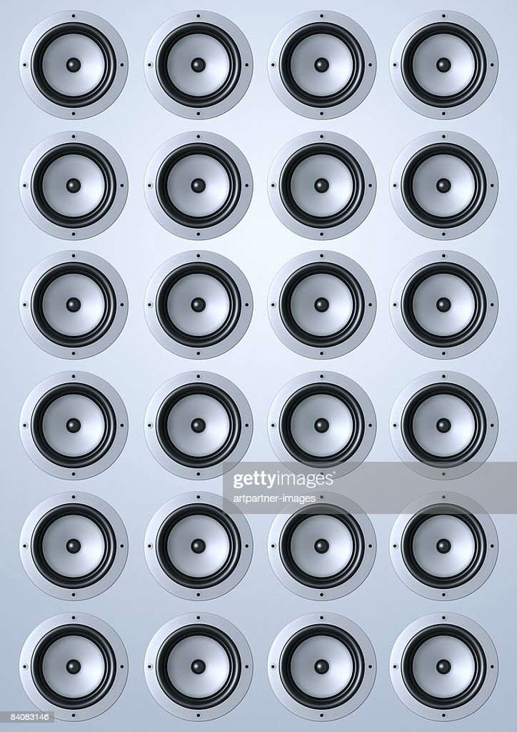 loudspeaker / speakers : Ilustración de stock