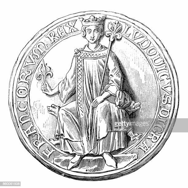 Louis IX or Saint Louis, Ludwig IX., 1214-1270, a Capetian King of France