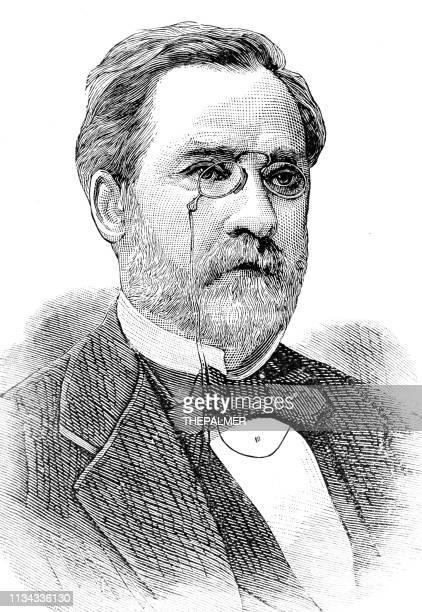 Louis Pasteur engraving 1894