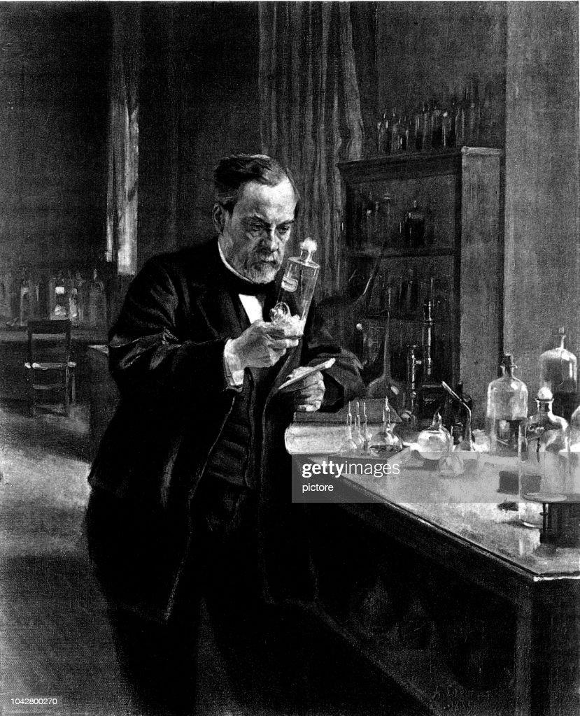 ルイ ・ パスツール (1849-1895) : ストックイラストレーション