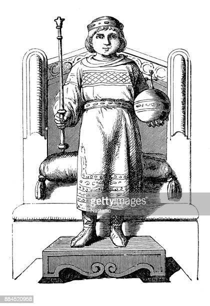 Louis XVI and Marie Antoinette of Versallies | Original art, Vault boy,  Character