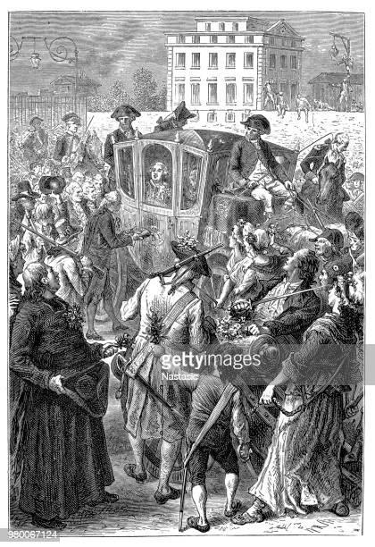 Louis XVI In Paris