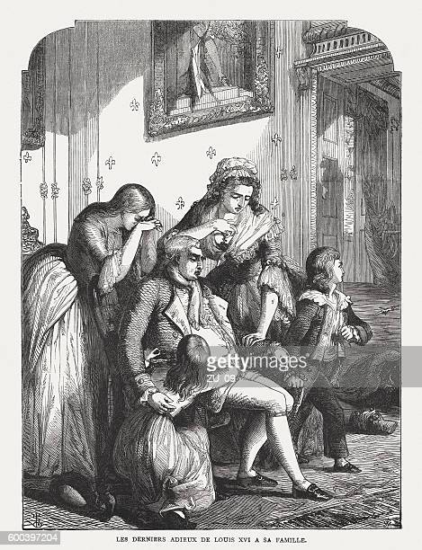 Louis XVI of France before his execution (1793), published 1877
