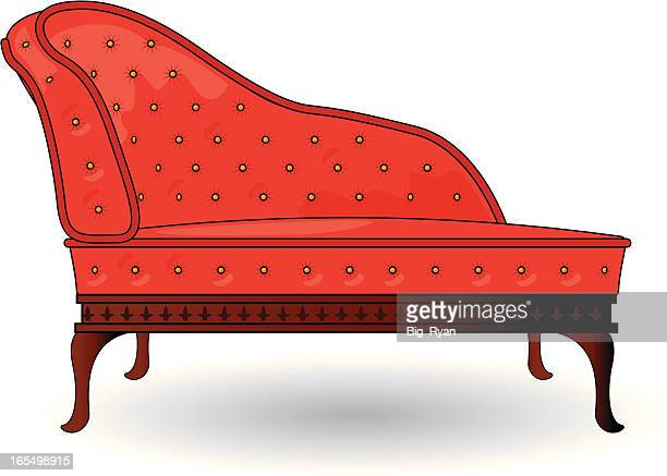 chaise lounge - chaise stock illustrations, clip art, cartoons, & icons