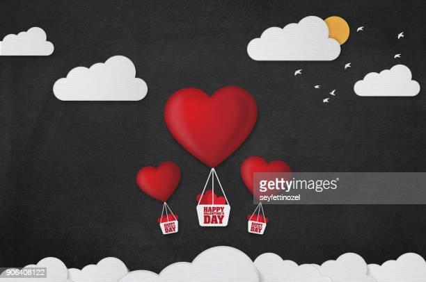 Love Balloon Background