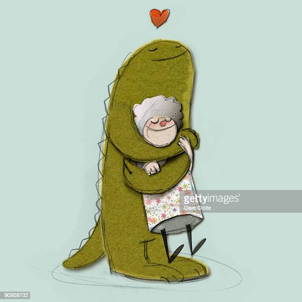 i love you - embracing stock illustrations