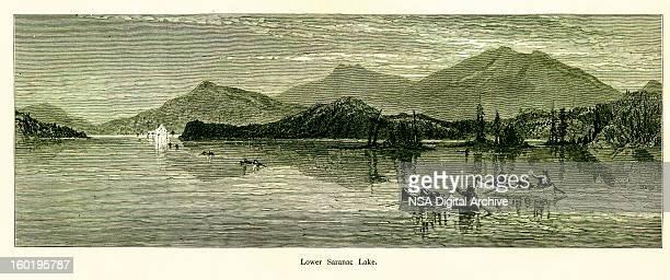 Lower Saranac Lake, New York