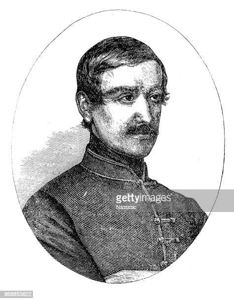 László Teleki ,Ladislas Teleky Hungarian writer and statesman