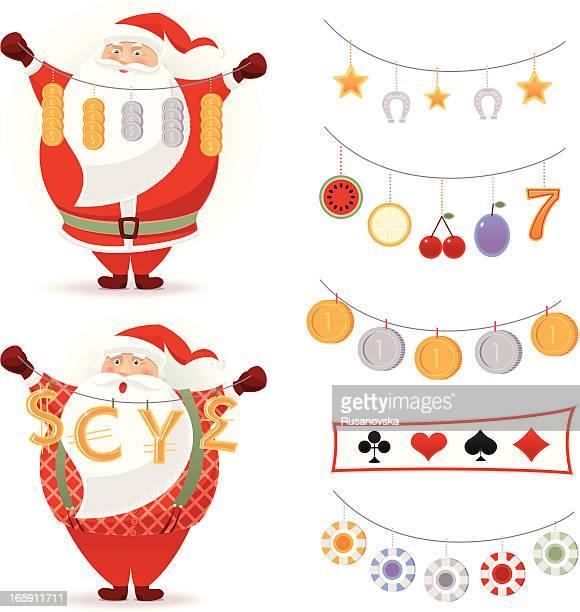 Lucky Santa Claus