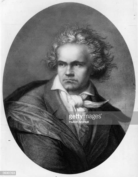 Ludwig van Beethoven , German composer and pianist.