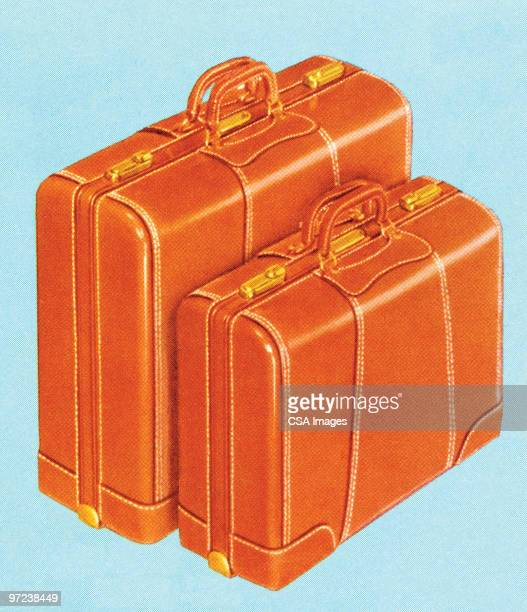 luggage - vacations stock illustrations