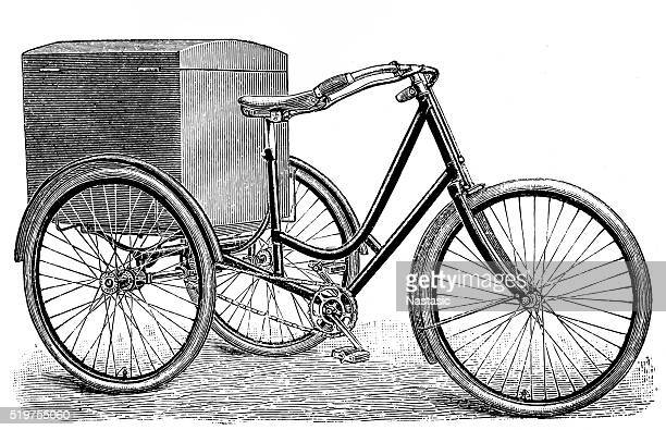 Luggage tricycle