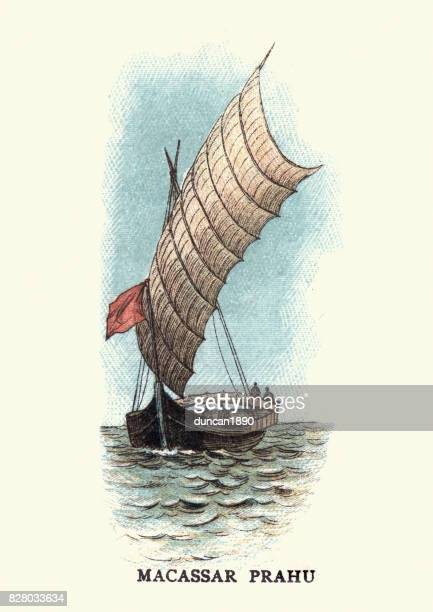 Macassar Proa Boat, 19th Century