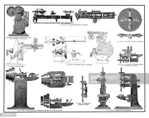 machine tools - power tool stock illustrations, clip art, cartoons, & icons