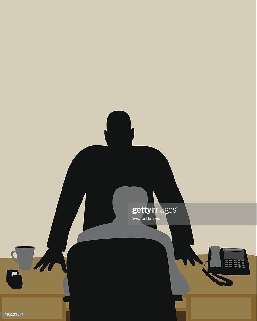Mad Boss : stock illustration