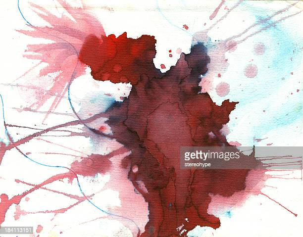 mad splat 構成 - 血しぶき点のイラスト素材/クリップアート素材/マンガ素材/アイコン素材