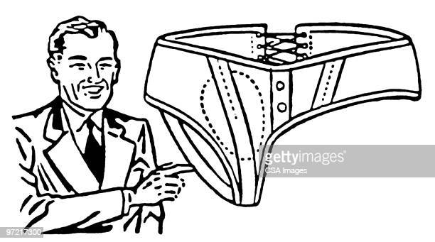 magic briefs - underwear stock illustrations, clip art, cartoons, & icons